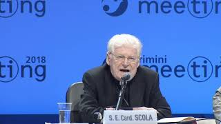 Card angelo scola meeting 2018