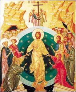 Pasqua Resurrezione icona russa