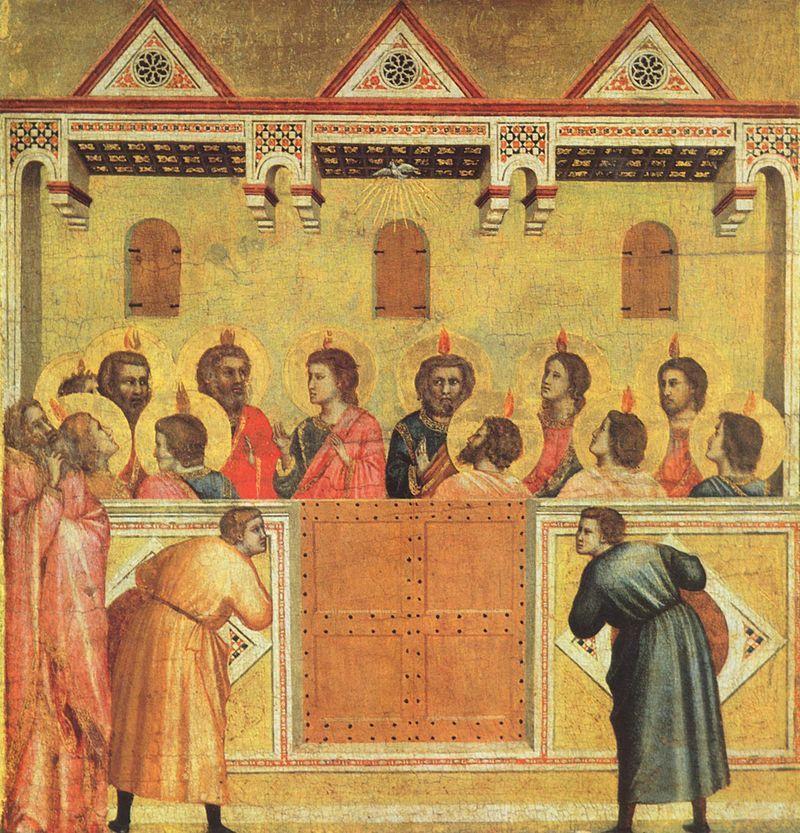Pentecoste Giotto di Bondone 088